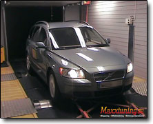 Chipptrimning Volvo V50 - Orginal ECU