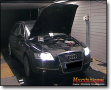 Chipptrimning Audi A6 - Orginal ECU