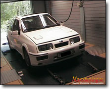 Mappning Ford Sierra Cosworth - DTA P8 PRO