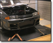 Mappning Nissan RB26 (2600cc) Apexi Power Fc, Greddy T517Z, Vpower
