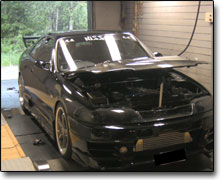 Mappning Nissan RB25 (2500cc) Apexi Power Fc, , Bensin 95/98